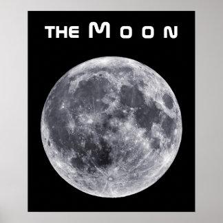 La luna póster