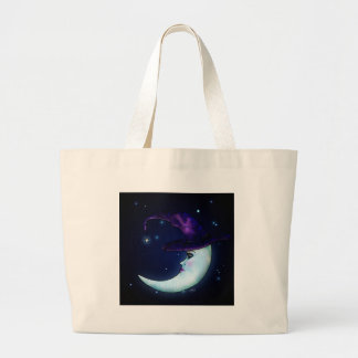 La luna Witching Bolsa Tela Grande