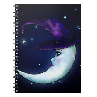 La luna Witching Libros De Apuntes
