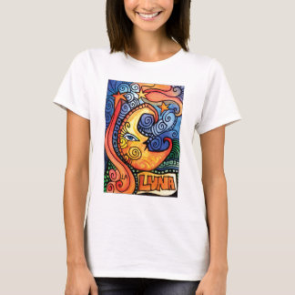La Lune / The Moon Loteria Card Design T-Shirt