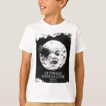 La Lune (un viaje de Le Voyage Dans a la luna) Playera