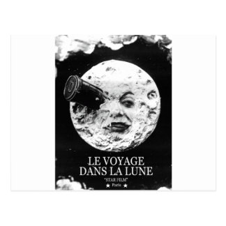 La Lune (un viaje de Le Voyage Dans a la luna) Postal