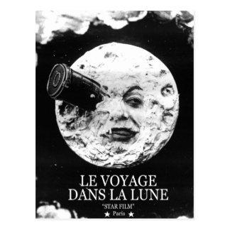 La Lune (un viaje de Le Voyage Dans a la luna) Tarjetas Postales