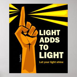 La luz añade a la luz impresiones