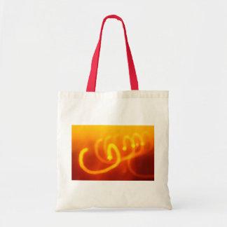 La luz arrastra el bolso abstracto bolsa tela barata