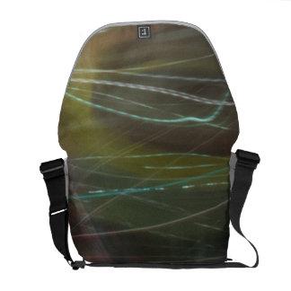 La luz colorida arrastra TPD Bolsas Messenger