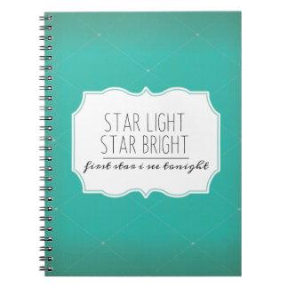 La luz de la estrella, protagoniza el | brillante note book