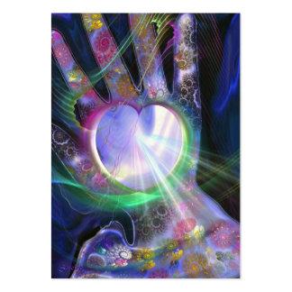 La luz de la panacea tarjetas de visita grandes