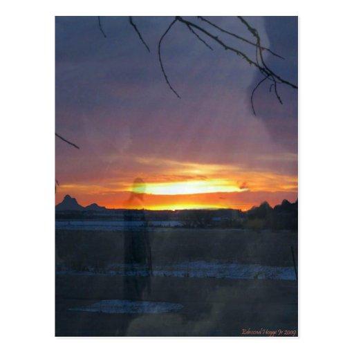 La luz del mundo tarjeta postal