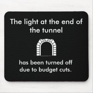 La luz del túnel - refrán divertido tapetes de raton