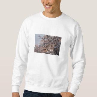 La luz en Nevado ramifica (la camiseta) Sudadera Con Capucha