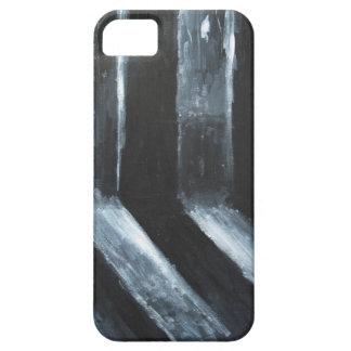 La luz que se escapa negra (simbolismo ligero) iPhone 5 cárcasa