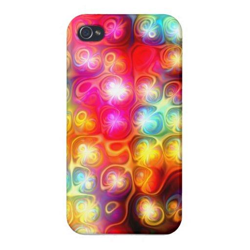 La luz vibrante señala por medio de luces con los iPhone 4/4S carcasas