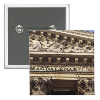 La Madeleine Church in Paris, France Button
