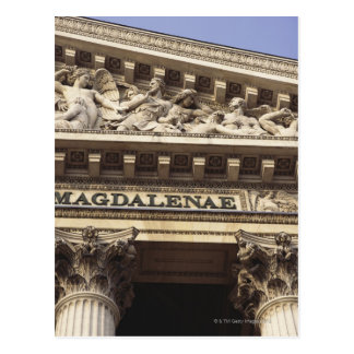 La Madeleine Church in Paris, France Postcard