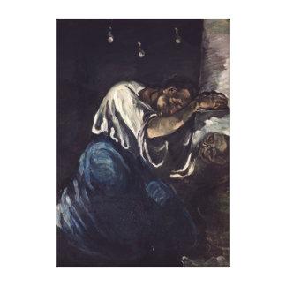 La Madeleine, o La Douleur, c.1869 Impresión En Lienzo