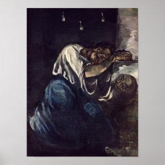La Madeleine, o La Douleur, c.1869 Póster