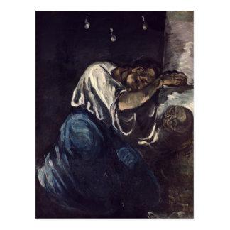 La Madeleine, o La Douleur, c.1869 Postal