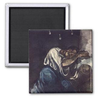 La Madeleine, or La Douleur, c.1869 Magnet