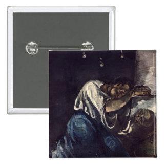 La Madeleine, or La Douleur, c.1869 Pinback Button