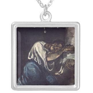 La Madeleine, or La Douleur, c.1869 Silver Plated Necklace