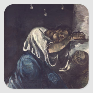 La Madeleine, or La Douleur, c.1869 Square Sticker