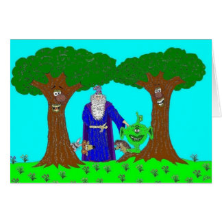 La madera mágica de Tickety Tarjetón