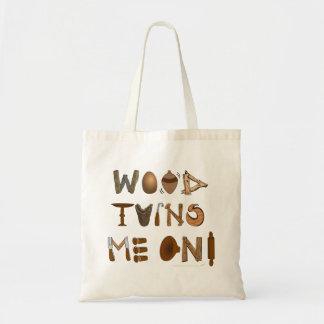 La madera me da vuelta en las herramientas y los p bolsa tela barata