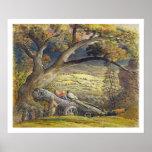 La madera Wain, c.1833-34 (w/c y aguazo en el pape Posters