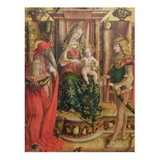 La Madonna della Rondine, after 1490 Postcard