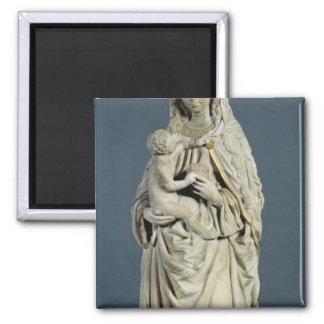 La madre de dios con el Cristo infantil, 1470 Imán Cuadrado