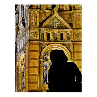 La madre de Juana de Arco ruega cerca de Basilique Tarjeta Postal
