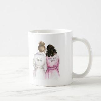 La madre de la novia le agradece asaltar taza básica blanca