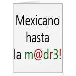 La Madre de Mexicano Hasta Felicitación