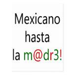 La Madre de Mexicano Hasta Tarjeta Postal