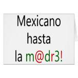 La Madre de Mexicano Hasta Tarjetas