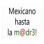 La Madre de Mexicano Hasta Tarjetas Postales