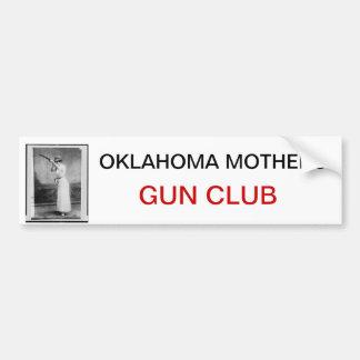 La madre del club del arma de las madres de Oklaho Pegatina Para Auto