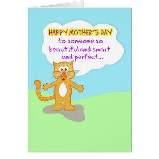 La madre feliz Día-Dura creerle no es un Ca Felicitaciones