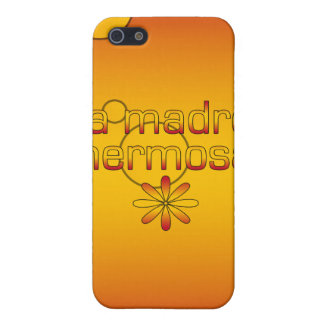 La Madre Hermosa Spain Flag Colors Pop Art Cover For iPhone 5