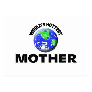 La madre más caliente del mundo tarjeta de negocio