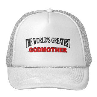 La madre más grande de dios del mundo gorras de camionero