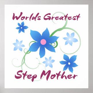 La madre más grande del paso del mundo (florida) póster