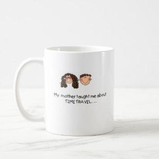 La madre me enseñó a medir el tiempo de la taza de