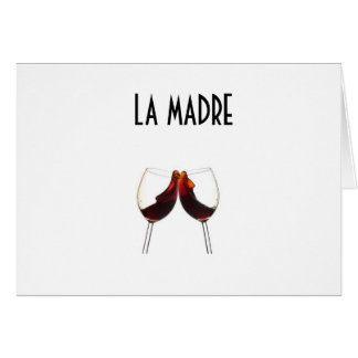 LA MADRE (MOTHER) HAPPY BIRTHDAY CARD