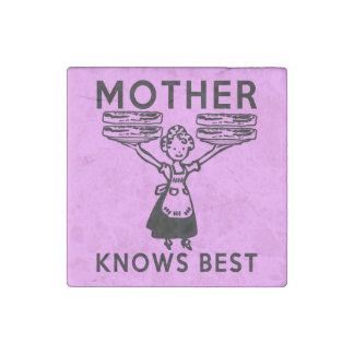 La madre sabe mejor: ¡Tocino! Imán De Piedra