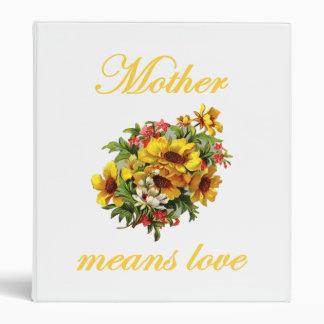 """La madre significa amor carpeta 1"""""""