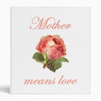 """La madre significa el amor (2) carpeta 1"""""""