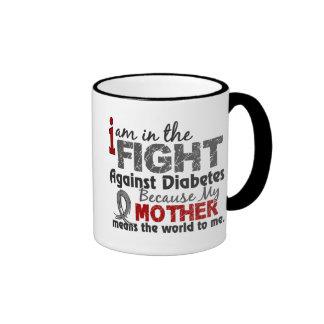 La madre significa el mundo a mí diabetes taza a dos colores