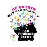 La madre tiene Parkinson Tarjeta Postal